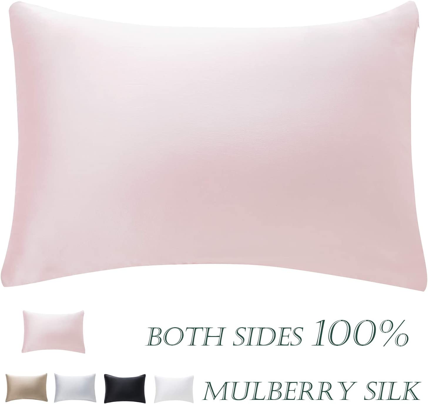 HandSun Direct stock discount Now free shipping 100% Mulberry Silk Pillowcase for Both Si and Skin Hair