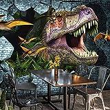 Papel de pared de foto personalizado 3D dinosaurio pintura de pared Mural papel tapiz dormitorio KTV Bar Fondo murales de pared papel tapiz decoración del hogar