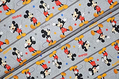 Swafing GmbH Disney Jersey Mickey Mouse Figuren - Stoff - Meterware - 0,5m x VB