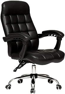 Sillas computadora de Oficina Silla ergonómica Silla de Escritorio, Silla de Trabajo reclinable con Respaldo Medio Giratorio con Altura Ajustable Silla de Rodillas