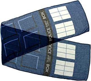 Dr. Who Tardis Lightweight Scarf