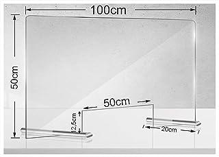 Manschin Laserdesign Acryl beschermschild 100x50cm   niesbescherming   spuugbescherming   toonbank   bescherming tegen dru...