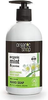 Organic Shop Jazmín Mentolado Jabón de Manos Hidratante - 500 ml