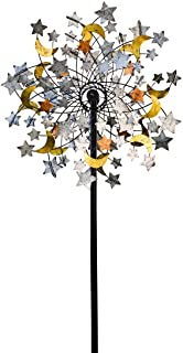 Plow & Hearth 54322 Celestial Confetti Garden Wind Spinner