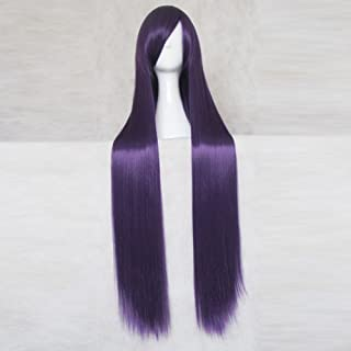 Code Geass Gloucester Deep Purple 100CM Long Cosplay Wig + Free Wig Cap