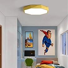 KCLQTK Modern LED ceiling lamp Simple northern Omaron color ceiling lamp surface installation living room bedroom panel li...