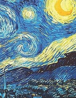 600 Page Sketchbook: Vincent Van Gogh Starry Night Art Journal for Doodling and Sketching