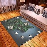 XuJinzisa Fiesta De Navidad Impresión 3D Alfombra Impresa Suave...