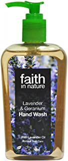 (3 PACK) - Faith in Nature - Lavender & Geranium Handwash | 300ml | 3 PACK BUNDLE