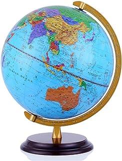 LQQFF Útiles Escolares Versión de 32 CM HD Globe en Chino e inglés de la decoración de la Oficina de Estudio del Estudiante