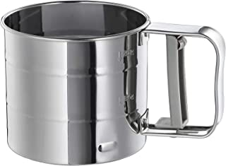 Ikea IDEALISK Flour Sifter, Stainless Steel