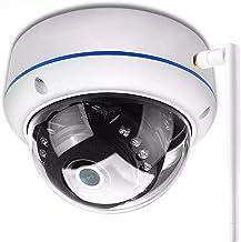 1080p Vandal-Proof IP-camera WIFI ONVIF P2P TF-kaartsleuf CCTV Dome Camera Draadloze bekabelde audio opgenomen beveiliging...