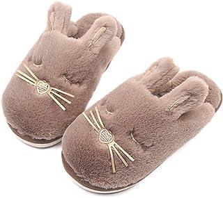 Caramella Bubble Fox Fleece Slippers Winter Wool Furry Plush Indoor/Outdoor Slippers