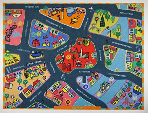 Kinder Spielteppich München Weltneuheit