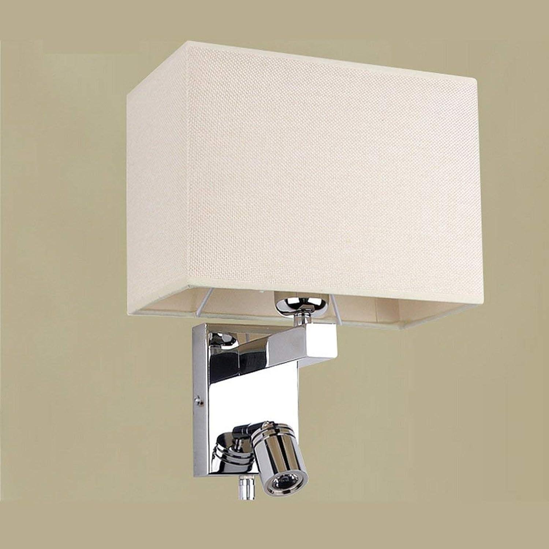 Xiao Yun  Moderner minimalistischer Stil Dimmen Wandlampe Wohnzimmer Wandlampe Schlafzimmer Nachttischlampe Wandlampe Led Gang Lampen , Galvaniklampe Krper (Gre  Mit Nachtlicht 32  17  23cm)