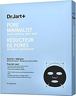 Dr.Jart+ Pore Minimalist Mask Black Charcoal Sheet Mask (5 Sheets)
