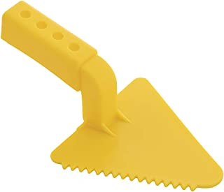 Superio Snow Toy Trowel V-Shape - Kids Beach Sand Fun Toy Yellow Trowel, Sturdy and Well Designed