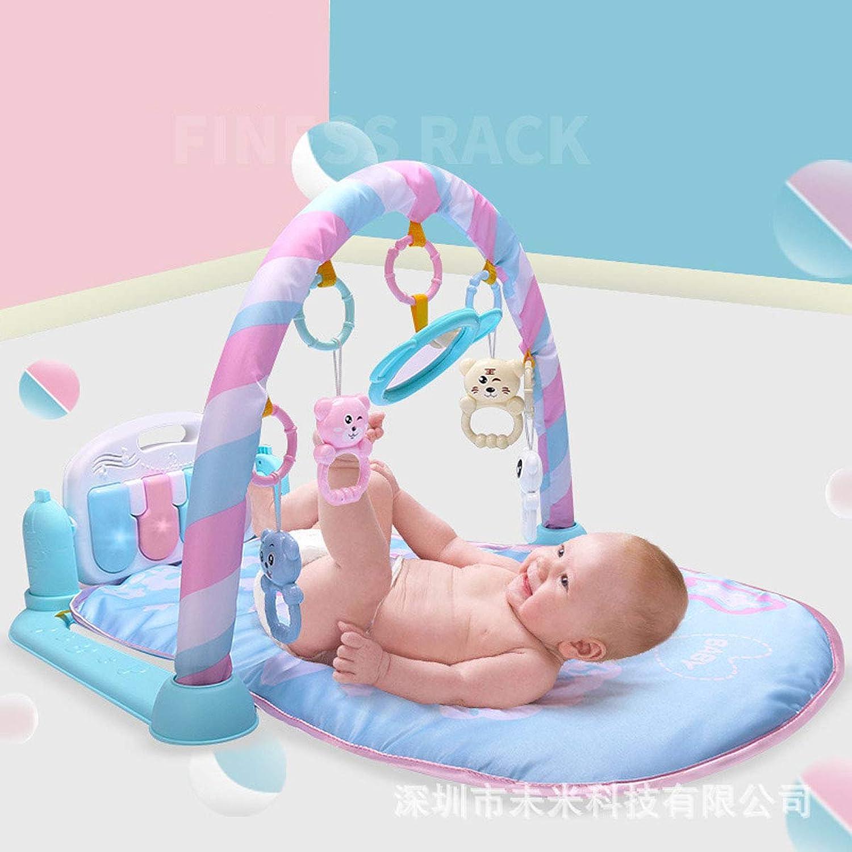 Baby Fitness Rack Pedal Klavier Fernbedienung Musik Spiel Decke