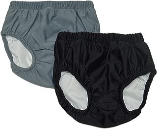My Pool Pal Unisex-Adult's 2 Pack Swim Brief/Diaper Cover