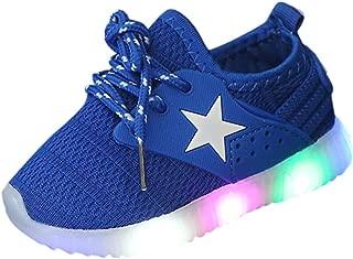 子供靴 スニーカー LEDライト ルミナス可愛い レースアップ シューズ メッシュ 赤ちゃん靴 男女兼用 幼児キッド 軽量 通気性抜群 男の子 女の子 滑り止め キッズ 運動靴 通園通学 子供の日 安いカジュアル シューズ