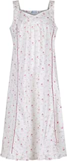 THE JESSICA 100/% COTTON SHORT SLEEVE NIGHTDRESS BY LADY OLGA Size 8-26