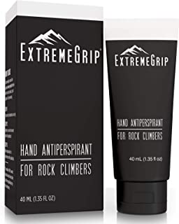 ExtremeGrip - World's First Hand Antiperspirant Grip Lotion for Athletes - Less Sweat, Better Climb, Longer Lift - for Cli...