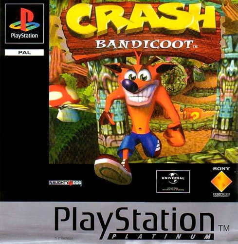 Crash Bandicoot game (PS1) [PlayStation]