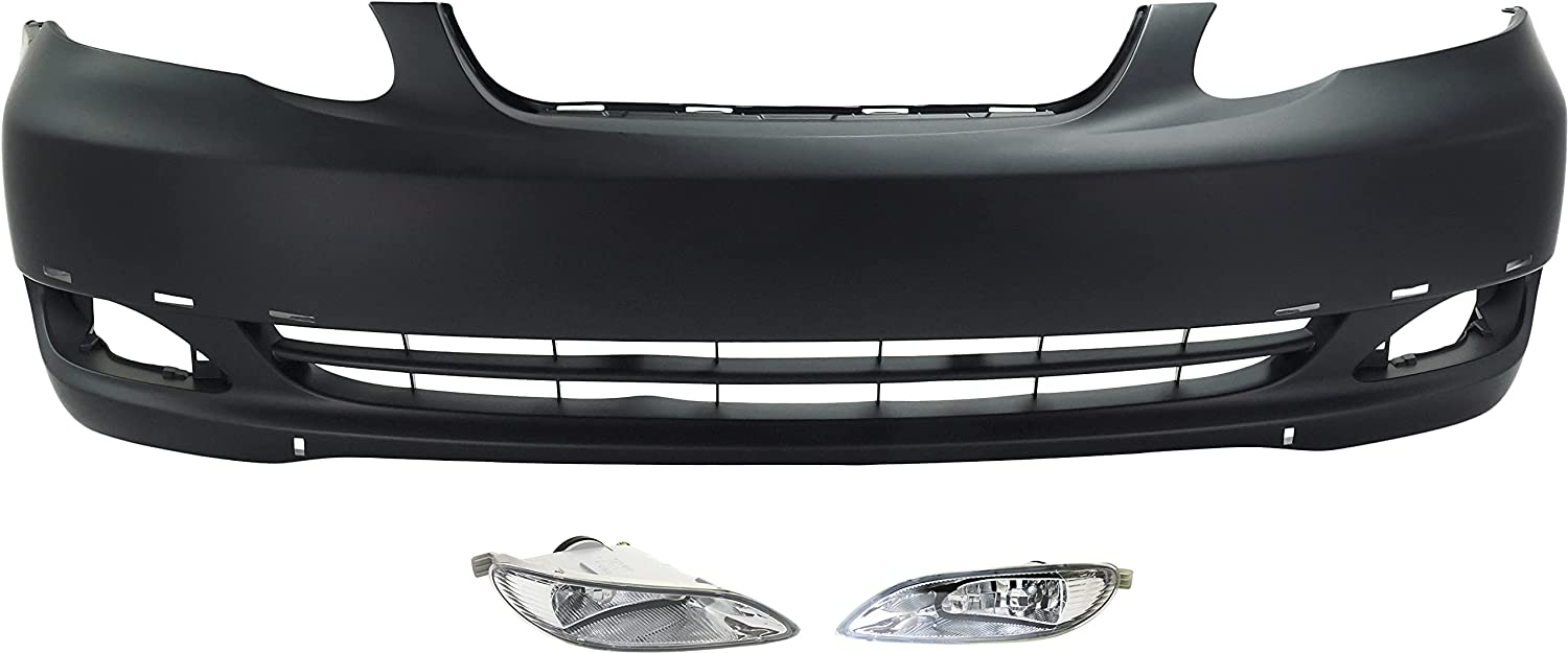 Garage-Pro Front Max 89% OFF Bumper Cover Compatible 2005-2008 with Toyota C Under blast sales