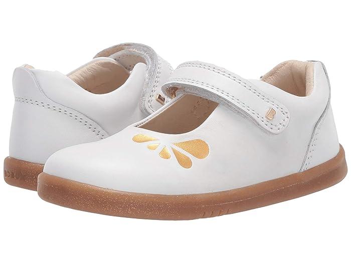 Bobux Kids  I-Walk Delight (Toddler) (White Petal) Girls Shoes
