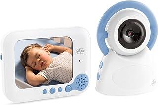 Chicco Baby Monitor Top Deluxe - Vigilabebés con cámara video con visión nocturna