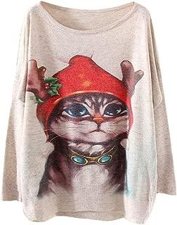 Women's Ugly Christmas Sweater Knit Festival Sweatshirt