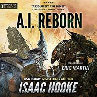 AI Reborn audiobook cover art