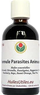 HuilesUtiles - La Formule Parasites Animaux - 100 ml
