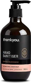 Thankyou Antibacterial Hand Sanitiser, Grapefruit, 300ml