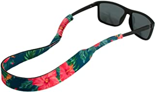 Ukes Premium Sunglass Strap - Durable & Soft Eyewear Retainer Designed with Floating Neoprene Material - Secure fit for Your Glasses and Eyewear. (The Alohas)