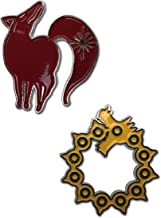 The Seven Deadly Sins: Meliodas and Ban Icons Metal Pin Set