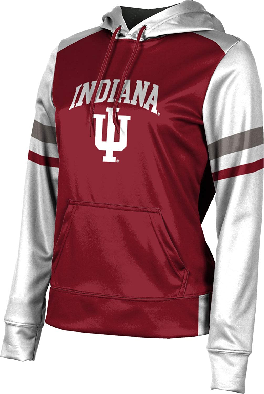 ProSphere Indiana University Girls' Pullover Hoodie, School Spirit Sweatshirt (Old School)