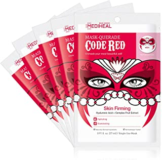 MEDIHEAL [US Exclusive Edition] - Mask-Querade Code Red Mask (5 Masks)