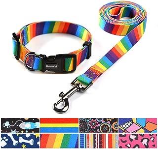 rainbow collar for dogs
