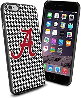 NCAA Alabama football , Cool iPhone 6 Smartphone Case Cover Collector iphone TPU Rubber Case Black