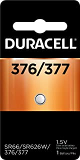 Duracell Watch And Electronic Battery 1.5 V Model No. 377 Carded
