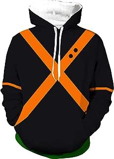 Boku No Hero Academia My Hero Academia Izuku Midoriya Hoodies Sweatshirt Pullover Costume Battle Suit Jacket