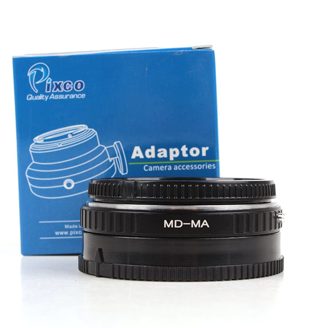 Pixco AF Confirmation chip Adapter With Glass For MD MC Lens to Minolta Sony MA A58 A65 A57 A77 A900 A300 A290 A230 A200
