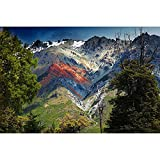 DENGZ Patagonia Volcano Landscape Series Jigsaw Puzzle Edición Avanzada 500/1000/1500/2000/3000 Uds.Juguetes Educativos De Desafío para Adultos Y Niños (Color : No partition, Size : 2000 pcs)