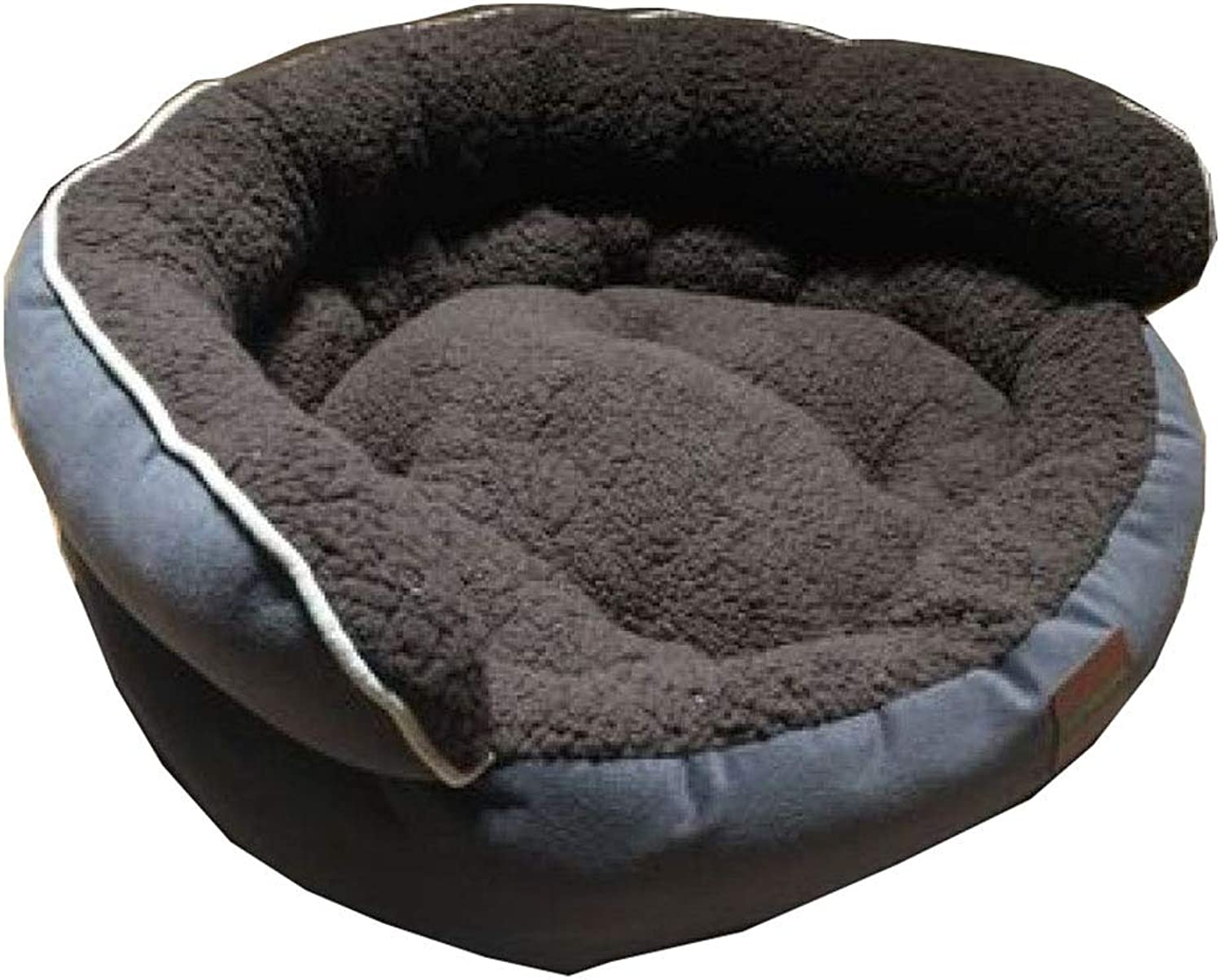 Cat Dog Kennel Warm Thick Waterproof High Back Autumn And Winter Pet Mat, 6 colors, 2 Sizes,A65  55  25cm