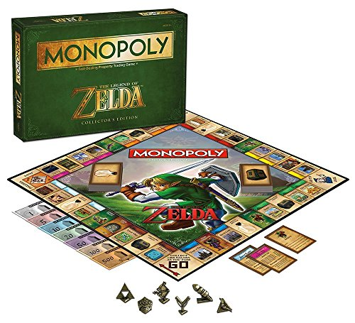 USAopoly Monopoly The Legend of Zelda Collectors Edition by