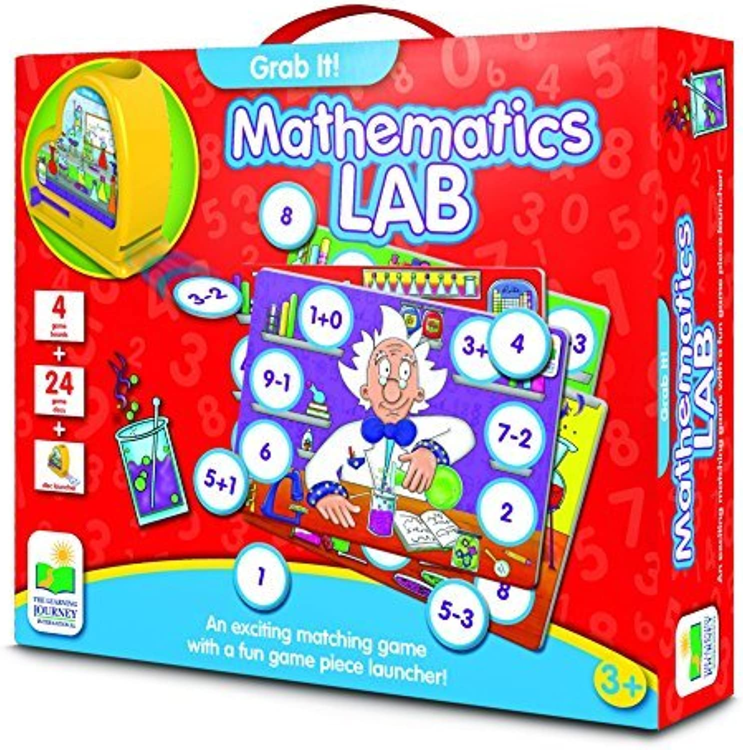 The Learning Journey Grab It. Mathematics Lab by The Learning Journey
