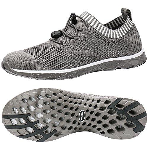ALEADER Men's Adventure Aquatic Water Shoes Overcast Gray 11 D(M) US