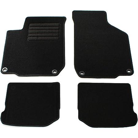 Fußmatten Passend Für Golf Iv Premium Velours Qualität Automatten Set 4 Teilig Schwarz Auto