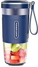 Portable Blender,AUZKIN Cordless Mini Personal Blender Small Smoothie Blender USB Fruit..
